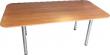 """Стол прямоугольный с закругленными краями """"120""""  (1.2 х 2 м и 1.2 х 2.4 м)"""